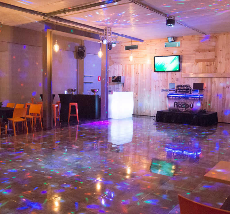 Local para celebraciones privadas